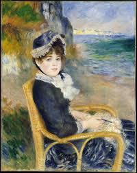 by the seas artist auguste renoir