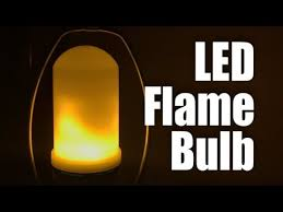 led flicker flame light bulbs lmco led flickering flame effect fire light bulb review youtube