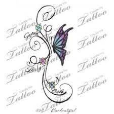 designs for grandkids names grandchildren tattoos
