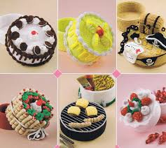 treasure cakes crochet pattern by annie u0027s attic