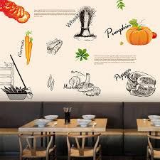 aliexpress com buy free shipping hand painted kitchen restaurant