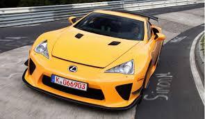 lexus lfa gt lexus lfa beats porsche corvette viper and nissan gt r kaizen