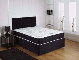 brand new double king size divan bed base with full orthopedic