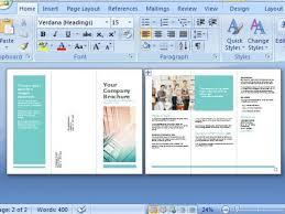 ms word brochure template free brochure maker free brochure maker template for ms