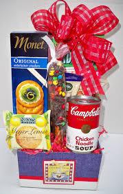 soup gift baskets cbells soup box sweet success baskets gift baskets