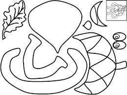 Fall Tree Coloring Pages Funycoloring