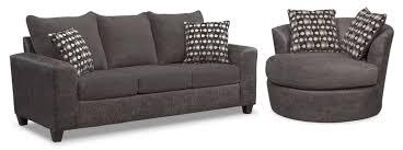 queen memory foam sleeper sofa brando queen memory foam sleeper sofa and swivel chair set smoke