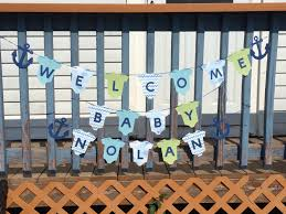 Welcome Home Decorations Baby Banner Welcome Home Baby Banner Handmade Baby Banner