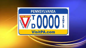 Pa Vanity Plates New Pa License Plates Label Teen Drivers Wnep Com