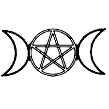 pentacle clipart crescent moon clipart collection crescent
