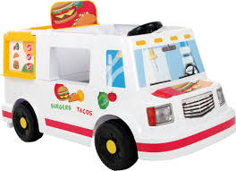 truck rollplay ez steer food truck 6 volt ride on toys