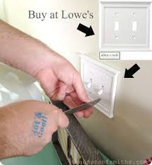 light switch cover night light outlet covers lowes new led night light install in seconds use just