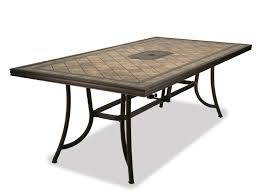 patio tables wonderful tile top patio table set patio table and chairs on patio