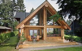 Small Post And Beam Homes Log Cabins Categories The Log Builders