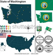 Washington travel icons images Vector map kenya named counties travel stock vector 598546286 jpg