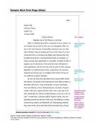 APA Paper Outline Example   APA Style Research Paper   APA Format