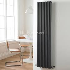 Designer Kitchen Radiators Fin Anthracite Vertical Single Panel Designer Radiator 63