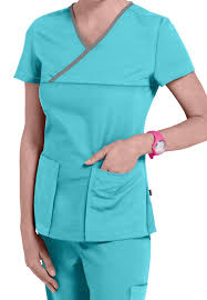 discount solid color scrub tops scrubs and beyond