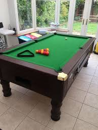 how big is a full size pool table standard size pool table room table designs