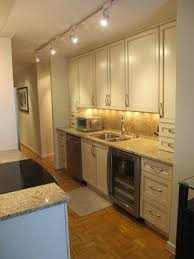 cabinet lighting galley kitchen galley kitchen design ideas pictures remodel and decor