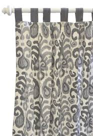 pink brown ikat shower curtain