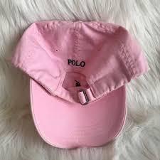 light pink polo baseball cap polo by ralph lauren accessories polo light pink baseball cap