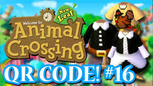 animal crossing new leaf qr codes thanksgiving special