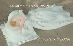 baby cake topper christening cake toppers mimosa s design
