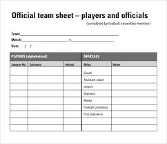 9 football score sheets free sample example format