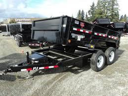 2018 pj trailers 7x14 14k low pro dump trailer olympic trailer