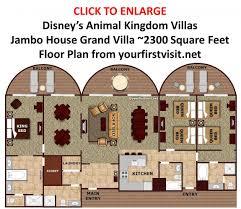 Old World Floor Plans Animal Kingdom 3 Bedroom Villa Floor Plan U2013 Home Plans Ideas