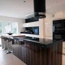 kitchen island extractor hood 70cm round island cooker hood black within kitchen island hood