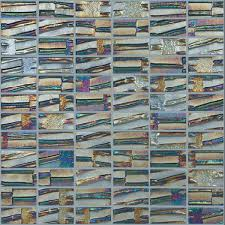 Recycled Glass Backsplash Tile by Vidrepur Moon Series Glass Mosaic Metalic 651 Super Nova 1