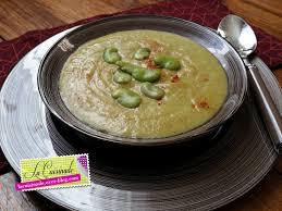 comment cuisiner les feves surgel馥s soupe de fèves la cuisinade