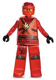 Kids Lego Halloween Costume Prestige Ninjago Kai Boys Costume