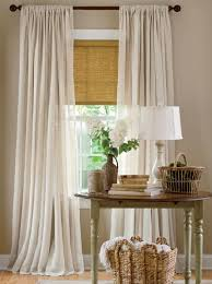 Curtain Valance Rod Love This Whole Vignette But The Curtains And Shade Are The Main