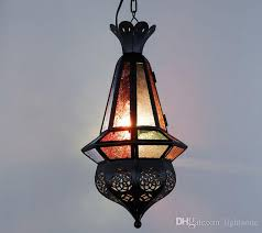 wholesales maan coffee mediterranean moroccan pendant lamp