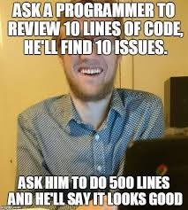 Code Meme - ask a programmer to review code memes doge the bitcoin pub