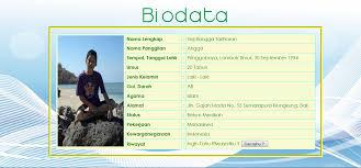 membuat ktp dengan html tutorial membuat biodata menggunakan html dan css coretan kus
