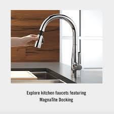 Magnetic Kitchen Faucet Magnetic Kitchen Faucet Sink Sprayer With Magnatite Docking