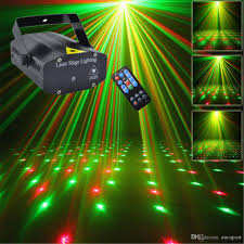 mini portable ir remote r g meteor laser projector lights led dj