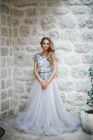 dusty wedding dress dusty grey wedding dress afina shop online on livemaster with