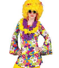 foto hippie figli dei fiori camicia hippy con fiori festa anni 70 tg 44 46 donna universo