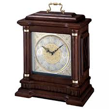 Chiming Mantel Clocks Clockway Seiko Bosley Chiming Carriage Mantel Clock With Oak Case