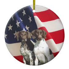 german shorthaired pointer tree decorations ornaments