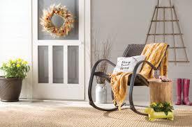 Resin Rocking Chair Alcott Hill Freeburg Rocking Chair U0026 Reviews Wayfair