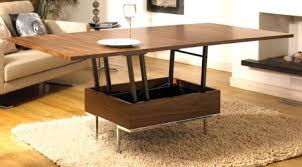from coffee table to dining table transformer furniture dwell39s convertible coffee table treehugger