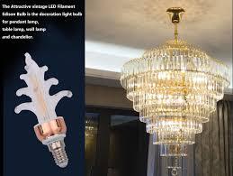 vintage led edison light bulb e14 e27 g9 5w retro filament warm