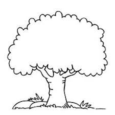 top 25 tree coloring pages for your ones