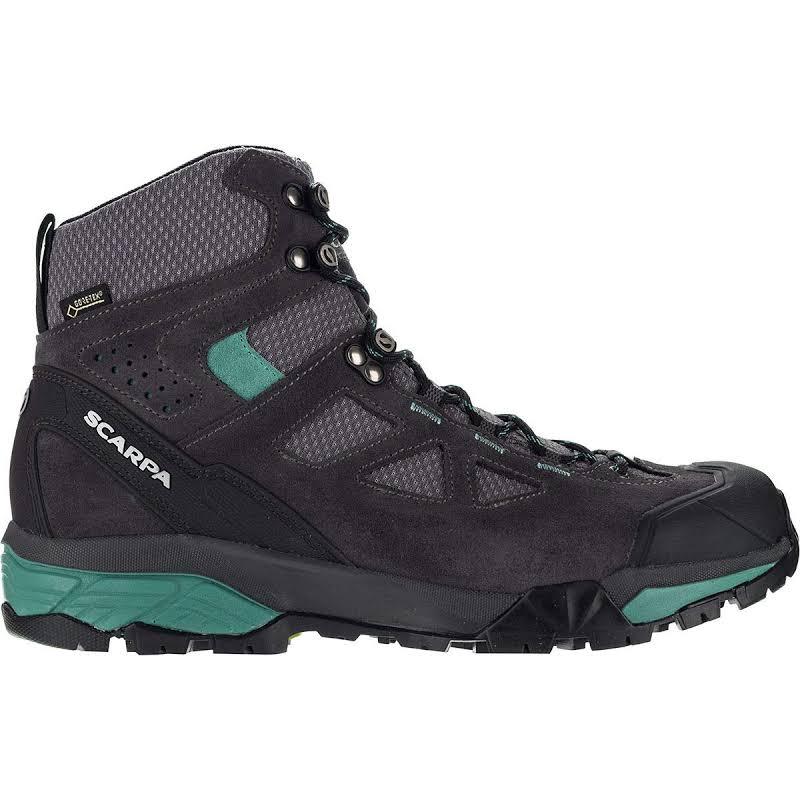 Scarpa ZG Lite GTX Shoes Dark Grey/Lagoon Medium 39.5 67080/202-DgryLag-39.5